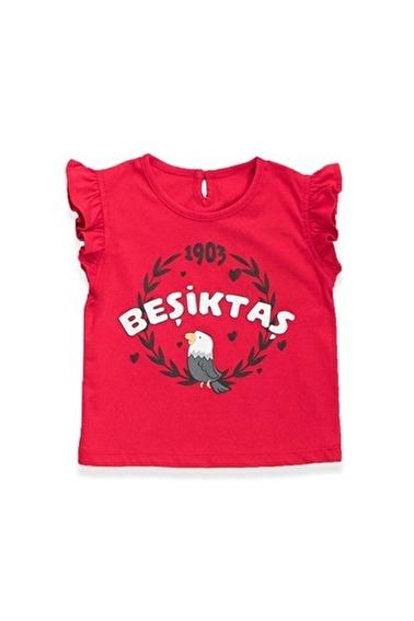 Beşiktaş Beşiktaş Lisanslı Kız Bebek T-Shirt Kırmızı Kırmızı
